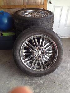 Mag Fast Wheel 20''  avec pneus 255/50/20
