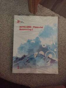 NSCC Financial Accounting 1 book