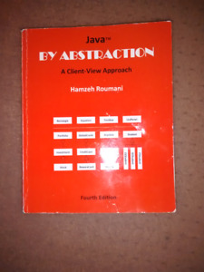 Java by Abstraction, A Client-View Approach by Hamzeh Roumani