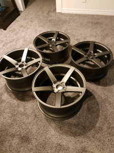 5x114.3  staggered wheels