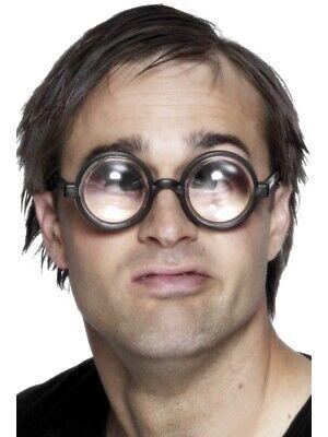 Scherzbrille Große Augen Nerd Brille Idiotenbrillen Lupenbrille Hornbrille