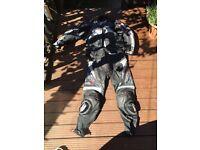 RST bike leathers,