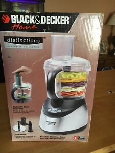 Black & Decker Distinctions food processor