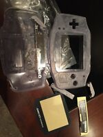 Gameboy advance glacier reproduction shell