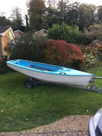 Enterprise sailing dinghy £600 ono