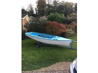 Enterprise sailing dinghy £600 ono