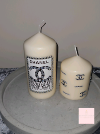 Decorative Designer Pillar Candles