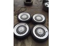 "18"" Volkswagen bbs alloy wheels 5x112 5x100 multi fit"