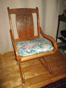 Solid Wood Rocking Chair Buy And Sell Furniture In Ottawa Kijiji Classifieds
