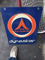 Dynastar Skis Vintage tin sign Double sided advertising