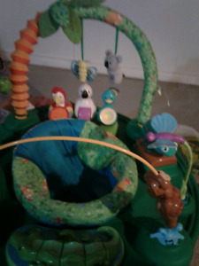 Jungle  World Exersaucer & Activity Table