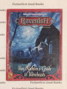 """Roleplay Manual: """"Ravenloft: Van Richten's Guide to Werebeasts"""""""