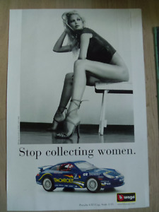 STOP COLLECTING WOMAN Color Poster.