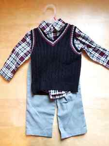 Boy's sweater, pants set