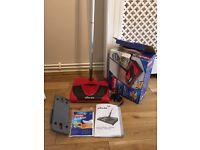 Vileda electric floor sweeper and dust mop
