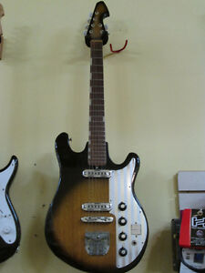1966 Tiesco Del Ray Guitar (Made in Japan)