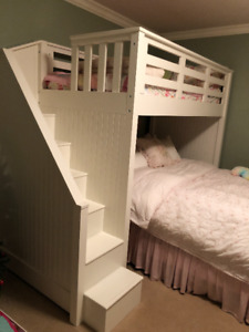 Pottery Barn Catalina Stairway Loft Bed (bed below not included)