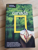 National geographic, livre voyage Canada