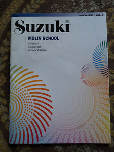 SUZUKI VIOLIN SCHOOL VOLUME 4 BOOK