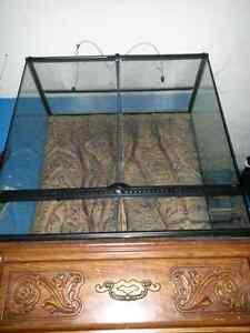 Extra large reptile tank