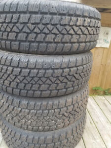 Selling 4 205/60/16 snow tires