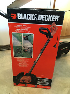 black and decker landscape edger and trencher