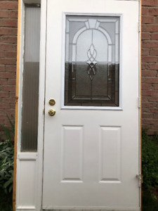"""36"""" Door with Sidelight - Complete with Frame"""