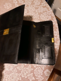 Leather document case