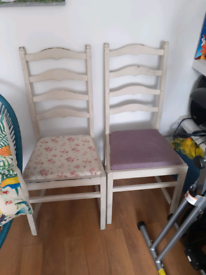 2 Ercol upcycled chairs