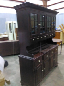 ETHAN ALLEN China cabinet plus pantry hutch