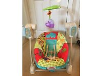 Fisher price space saver swing and seat