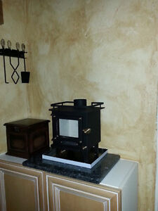 Cubic Mini Wood stove (Not a toy is a real wood burning stove) Kawartha Lakes Peterborough Area image 1
