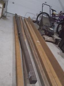 Left over lumber