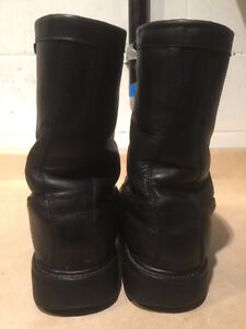 Men's Thinsulate Insulation Ultimate Viper Leather Boots Size 10 London Ontario image 3