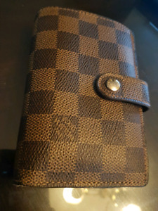 Louis Vuitton Damier Ebene Canvas French Wallet