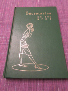 Vintage - Secretaries on the Spot 1961   Great condition