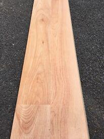 Beech effect laminate flooring 7mm thick