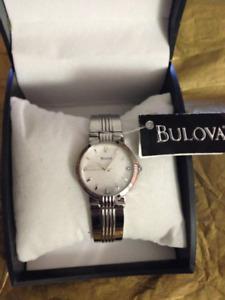 Women's Bulova Watch NWT