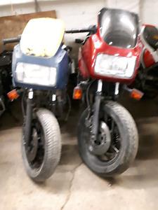 2 Yamaha FZ 750 Project Bike