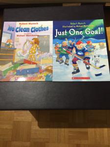 2 Robert Munsch Books - BRAND NEW