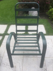 NEW AND UNUSED ALUMINUM PATIO CHAIR