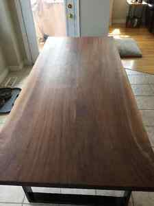 Custom live edge and modern dining tables Cambridge Kitchener Area image 2