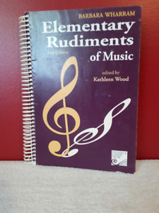 Elementary Rudiments of Music, by Kathleen Wood