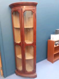Reproduction corner cabinet antique vintage retro