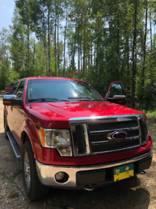 2012 FORD F-150 4WD LARIAT SUPERCREW CAB