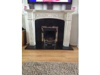 Marble fire surround, excellent condition