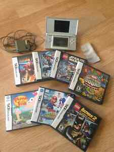 Ds lite and 7 games