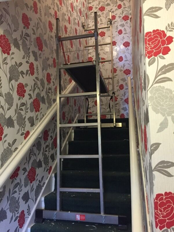 Youngman 200 Decorating Stair Ladders In Saughton