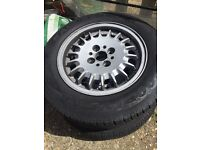 """BMW e30 alloy wheels, 4x100 - Swap for 17"""" tyres?"""