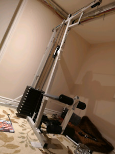 Weider Hi-Low pulley cable machine